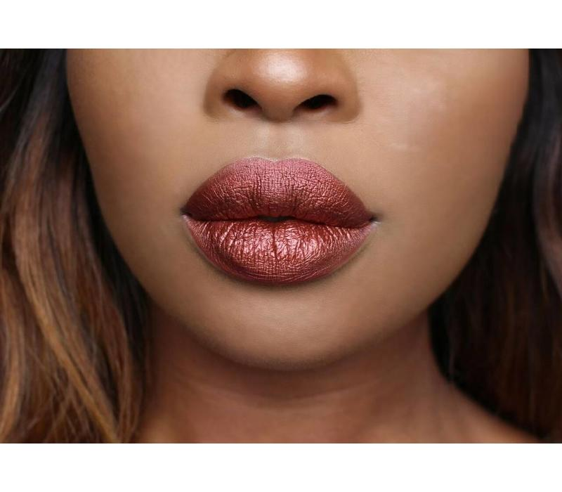 Beauty Bakerie Metallic Lip Whip Liquid Lipstick Cinnamon Roll