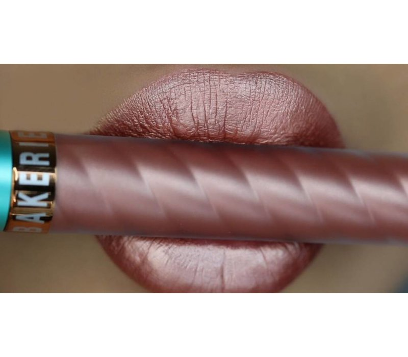 Beauty Bakerie Metallic Lip Whip Liquid Lipstick Rose Pose