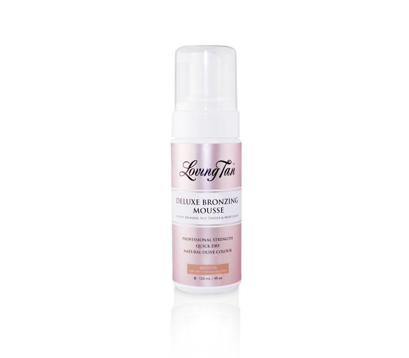 Loving Tan Deluxe Bronzing Mousse Medium 120ml.