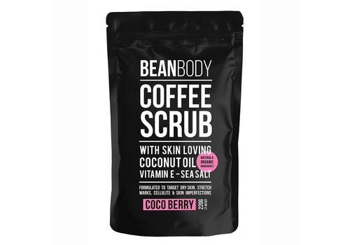 Bean Body Coffee Scrub Cocoberry