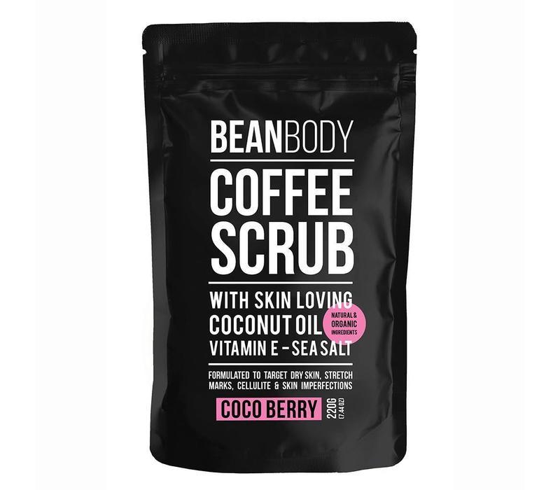 Bean Body Coffee Scrub Cocoberry 220 gr.