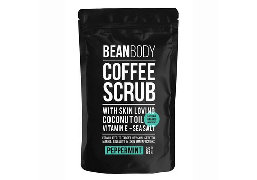 Bean Body Coffee Scrub Peppermint