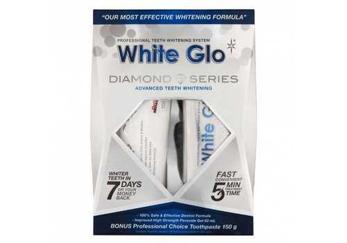 White Glo Diamond Series Whitening Kit
