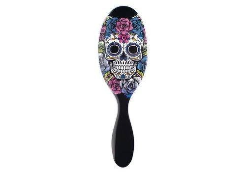 WetBrush Sugar Skull Purple Rose