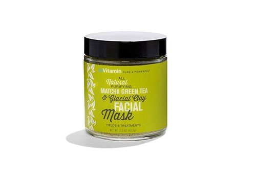 Invitamin Purifying Matcha Green Tea Facial Clay Mask