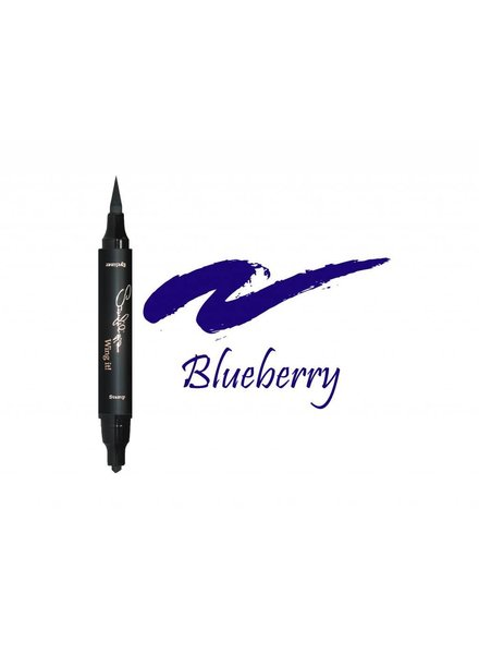 Sanfilippo Wing it! Sanfilippo Wing it! Eyeliner Thin Stamp Blueberry