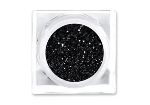 Lit Cosmetics Solid Glitter Pigment Back in Black Size #2