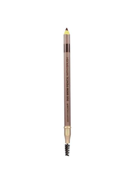 City Color City Color Brow Pencil with Brush Dark Brown