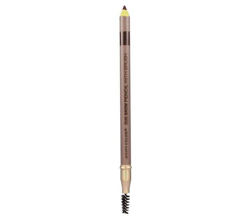 City Color Brow Pencil with Brush Dark Brown