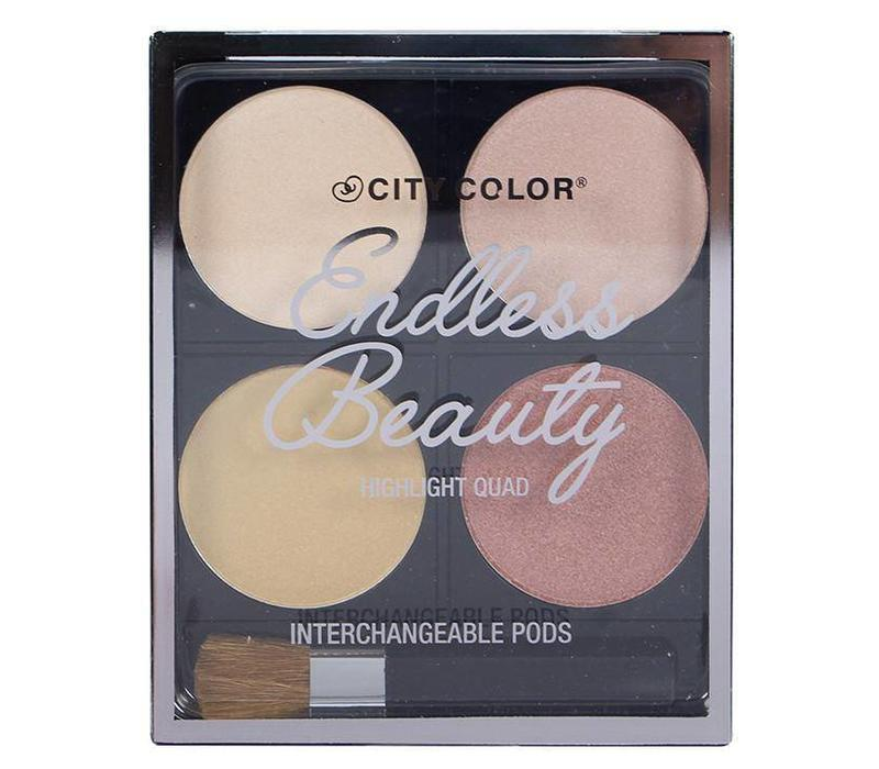City Color Endless Beauty Highlight Quad