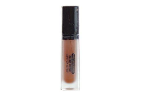 City Color Matte Liquid Lipstick Lipstick Rust