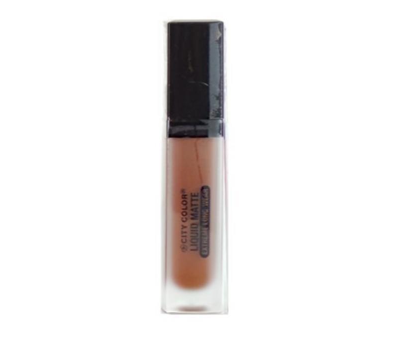 City Color Liquid Matte Extreme Long-Wear Lipstick Rust