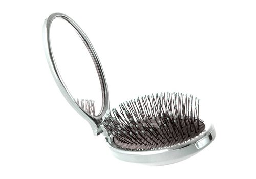 WetBrush Mini Pop Fold Silver