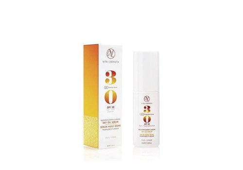 Vita Liberata Passionflower & Argan Dry Oil Face Serum SPF30