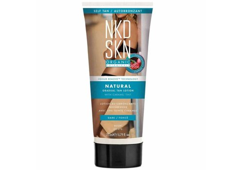 NKD SKN Natural Gradual Tan Lotion Caramel Tint Dark