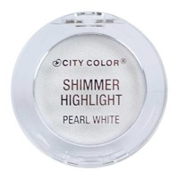 City Color Shimmer Highlight Pearl White