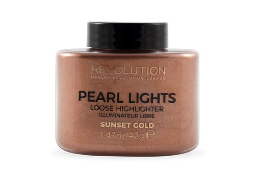 Makeup Revolution Loose Highlighter Sunset Gold