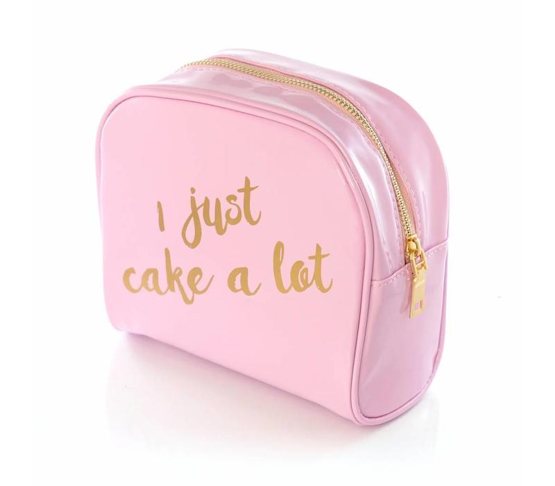Beauty Bakerie I Just Cake A Lot Makeup Bag