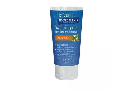 Revuele Washing Gel Anti-Acne and Blackheads with Tea Tree Oil