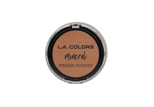 LA Colors Mineral Pressed Powder Toffee