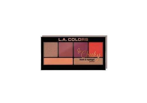 LA Colors Blush & Highlighter Hot and Spicy