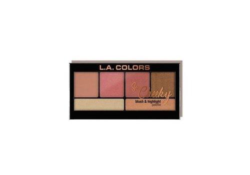 LA Colors Blush & Highlighter Peaches and Cream