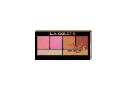 LA Colors Blush & Highlighter Pink and Playful