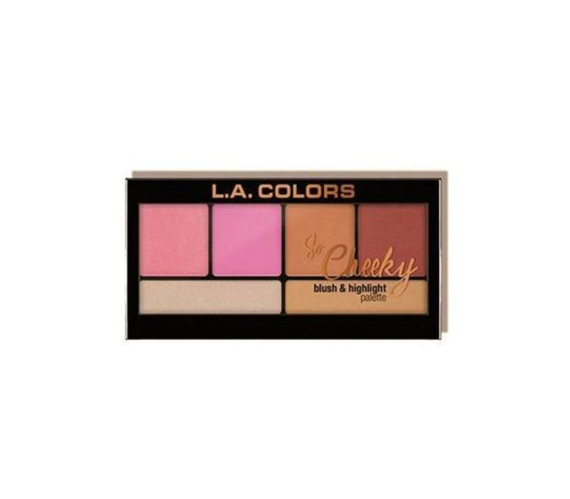 LA Colors So Cheeky Blush & Highlighter Pink and Playful