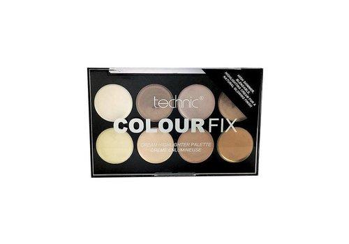 Technic Colour Fix Highlighter Cream Palette
