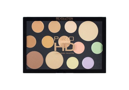 Makeup Revolution The Works Light- Medium Palette