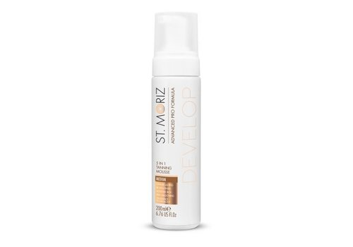 St. Moriz 5-in-1 Tanning Mousse Medium