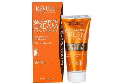 Revuele Self Tanning Cream Medium-Dark