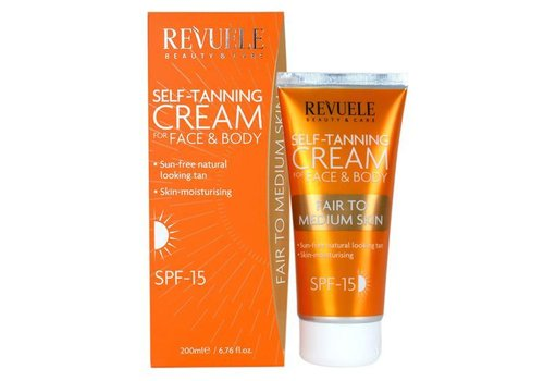 Revuele Self Tanning Cream Fair-Medium