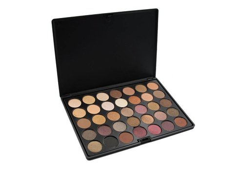 Crown Brush 35 Colour Tuscany Eyeshadow Palette