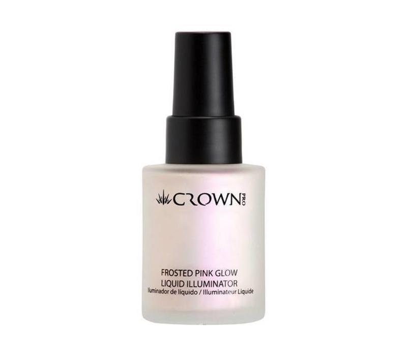 Crown Brush Liquid Illuminator Frosted Pink Glow