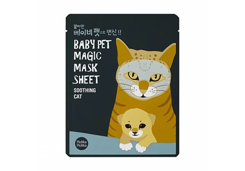 Holika Holika Baby Pet Magic Mask Sheet Cat
