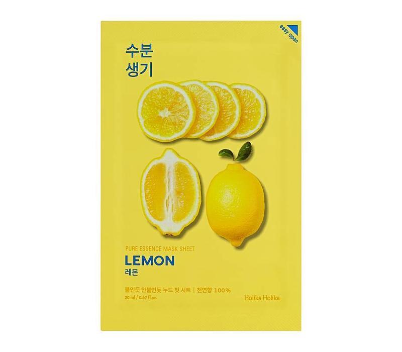 Holika Holika Pure Essence Mask Sheet Lemon