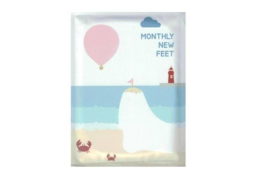 Package Monthly New Foot Exfoliation Mask