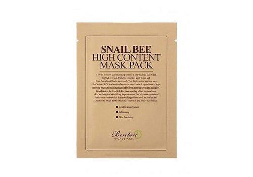 Benton Snail Bee High Content Mask Pack