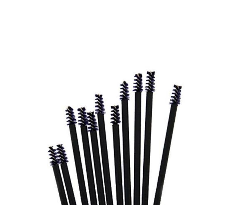 The Brush Tools Disposable Nylon Mascara Brushes Small 50 pcs