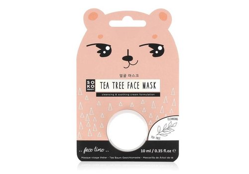 SOKO Ready Tea Tree Pod Mask