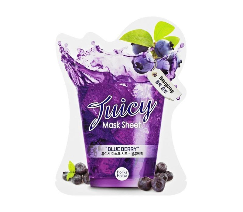 Holika Holika Blueberry Juicy Mask Sheet