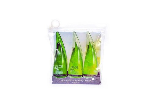 Holika Holika Jeju Aloe Face And Bodycare Set