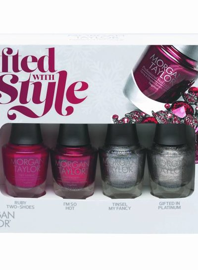 MORGAN TAYLOR 51269 4 PC MINI SQUAD PACK GIFTED WITH STYLE COLLECTIE