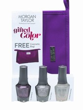 MORGAN TAYLOR 3PC GIFTED WITH COLOR