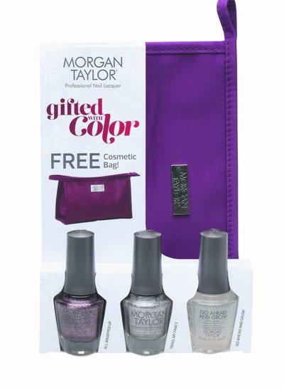 MORGAN TAYLOR 51270 3PC GIFTED WITH COLOR