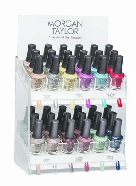 MORGAN TAYLOR 36PC CASUAL COOL DISPLAY