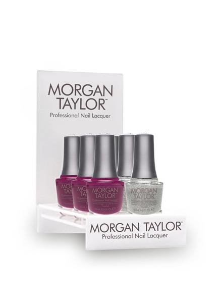 MORGAN TAYLOR 6PC BEAUTY-TO-GO DISPLAY