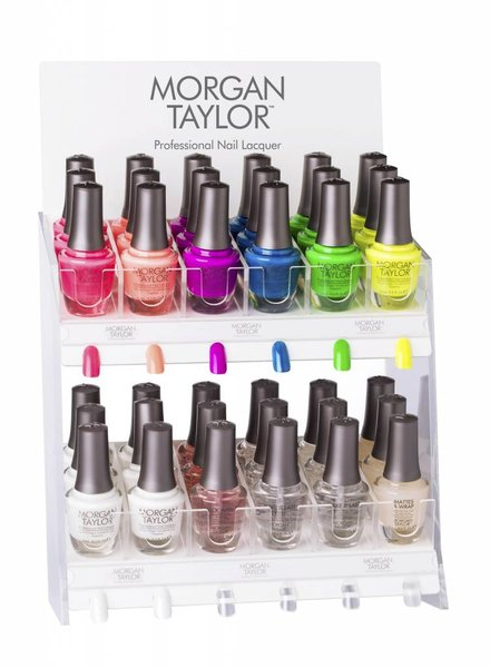 MORGAN TAYLOR 36PC NEON LIGHTS DISPLAY