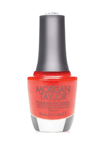 MORGAN TAYLOR ORANGE YOU GLAD